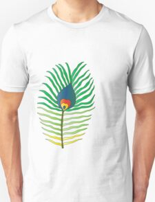 peacock feather flame T-Shirt