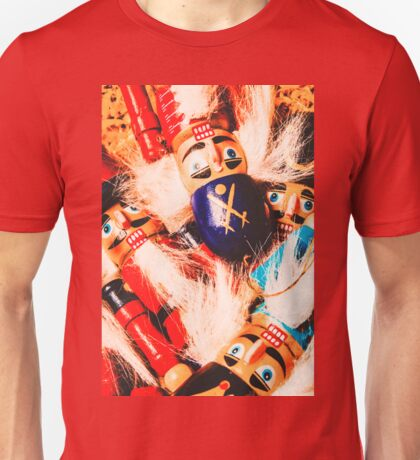 Soldier dolls from a tradition past Unisex T-Shirt