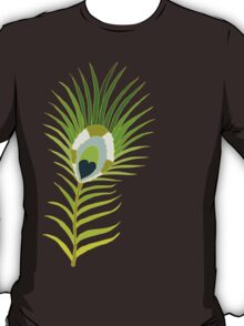 peacock feather simple T-Shirt
