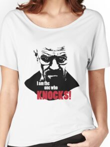 Breaking Bad - Heisenberg - I am the one who knocks! T-shirt Women's Relaxed Fit T-Shirt