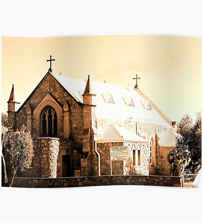 Kellerberrin Catholic Church Poster