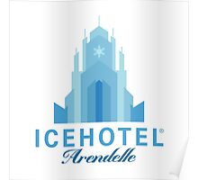ICEHOTEL Arendelle Poster