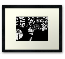 The Haunted Framed Print
