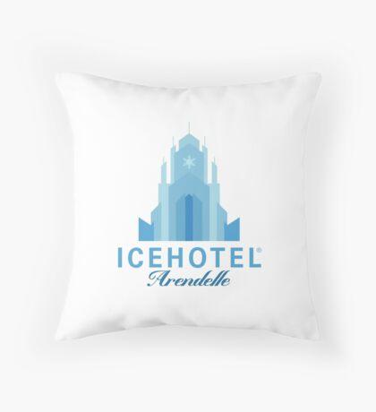 ICEHOTEL Arendelle Throw Pillow
