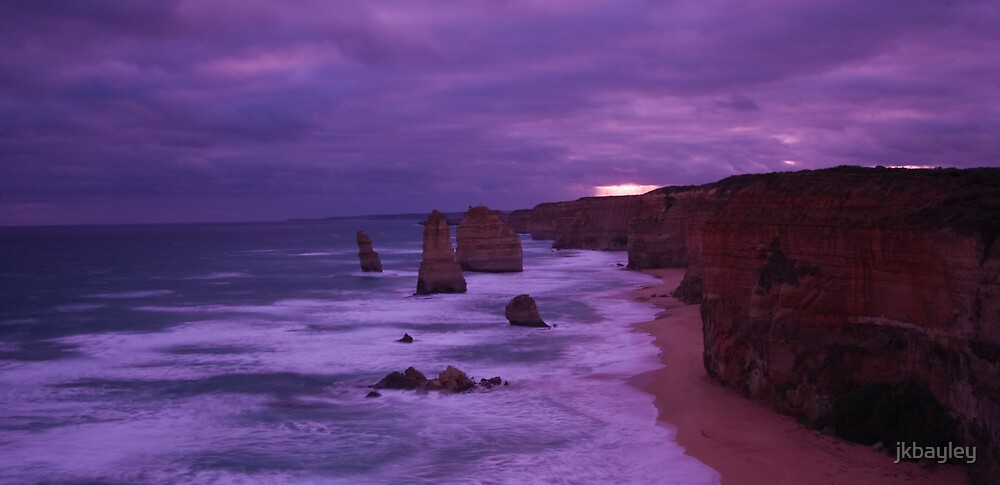 The Twelve Apostles by jkbayley
