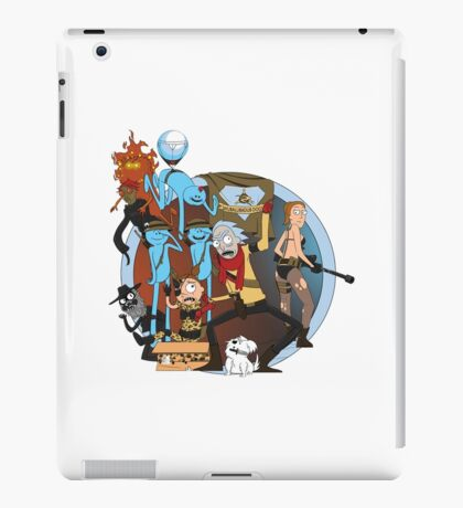 rick and morty follout iPad Case/Skin