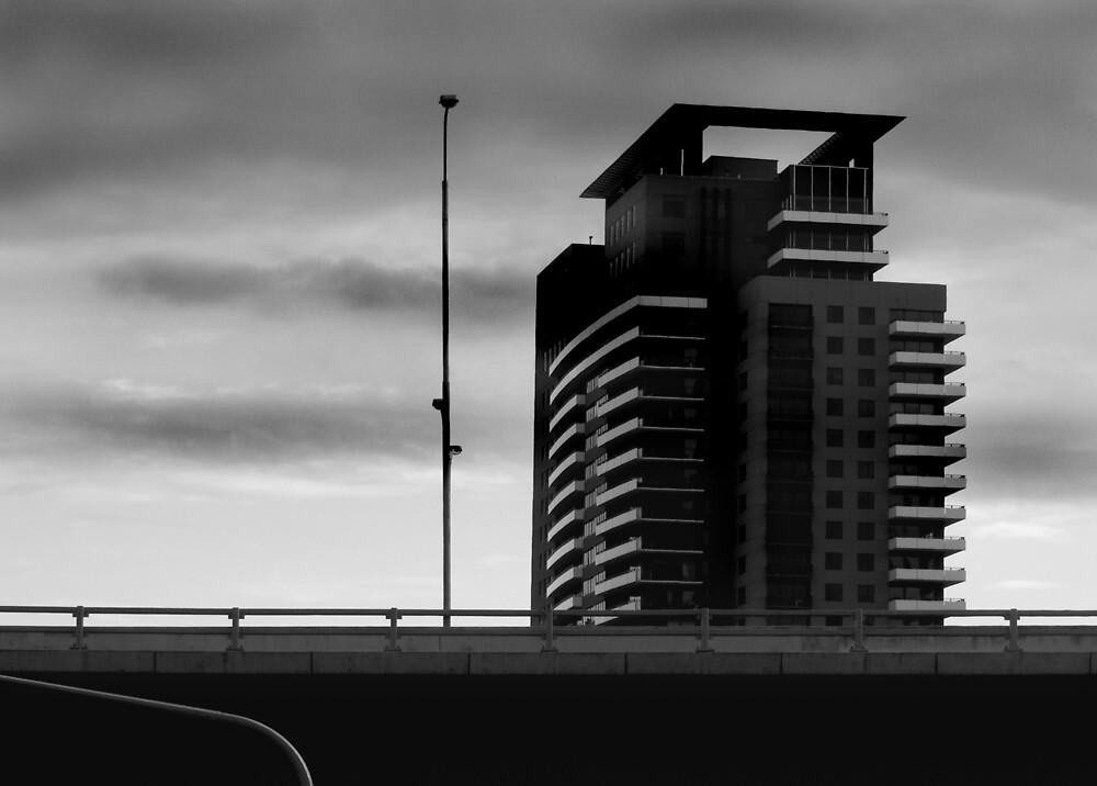Penthouse and Pole by Bruce  Watson
