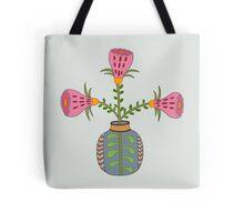 flower pot illustration 1 Tote Bag
