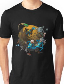 rick and morty outer space Unisex T-Shirt