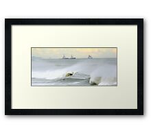 The pocket Framed Print