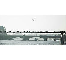 Millennium bridge Photographic Print