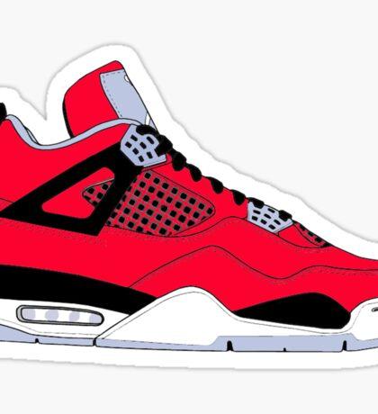 "Air Jordan IV (4) ""Toro Bravo"" Sticker"