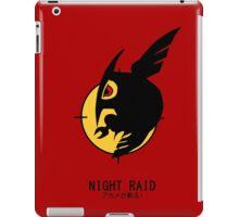 Night Raid + Caption iPad Case/Skin