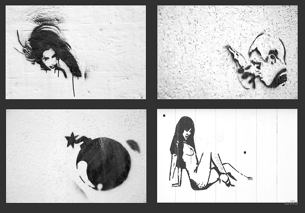 graffiti by willd