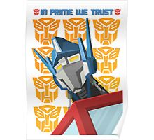 In Prime We Trust (Variant) Poster