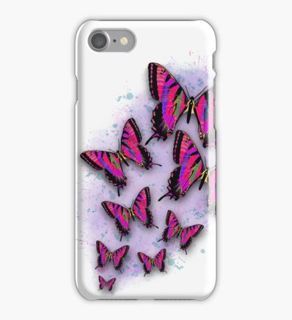 Carrie's Butterflies iPhone Case/Skin