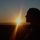 Sunset profile by moseszap
