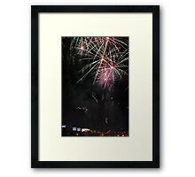 Fireworks @ Crown Framed Print