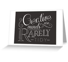 The Creative Mind Greeting Card