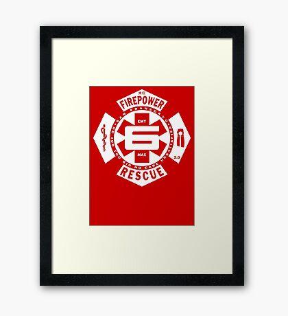 Big Fire #6 Framed Print