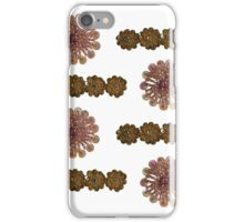 Pink and Gold Bead and Sequin Flowers (I)- Vintage Bling iPhone Case/Skin
