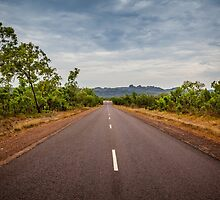 Ubirr Road by Russell Charters