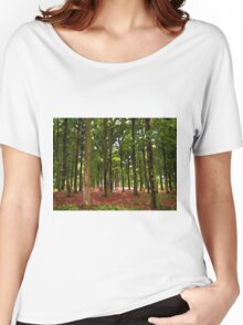 Beautiful Forest landscape Women's Relaxed Fit T-Shirt