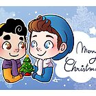 Christmas Klaine III. by Sunshunes