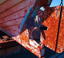 Old rust boat restoration by ronyzmbow