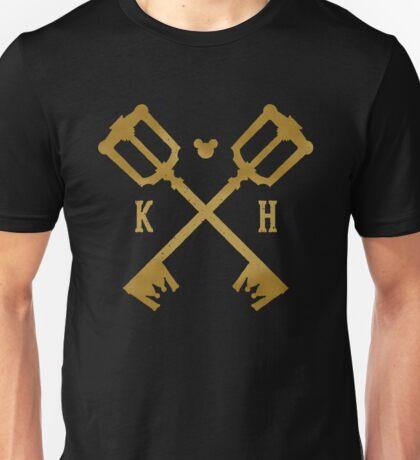 Crossed Kingdom Keys Unisex T-Shirt