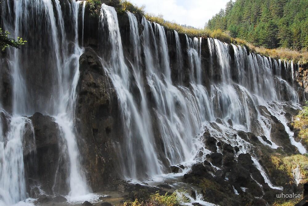 Shuzheng Falls by whoalse
