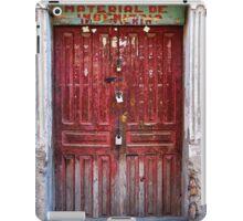 Doors of Bolivia - The Red Door iPad Case/Skin