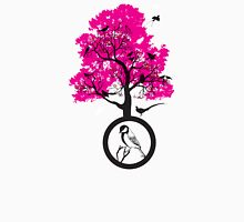 tree of beaks Womens Fitted T-Shirt
