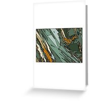 Army Shatter Greeting Card