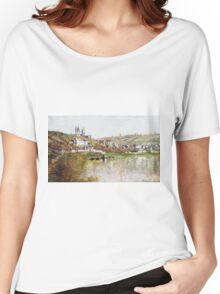 Claude Monet - The Hills Of Vetheuil, 1880 Women's Relaxed Fit T-Shirt
