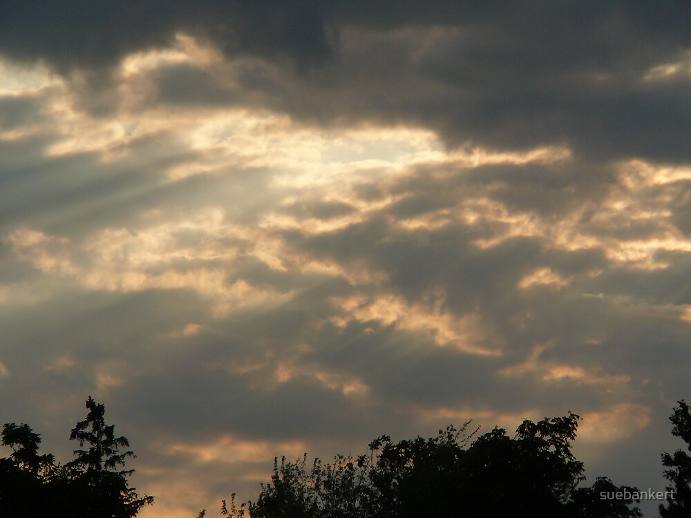 Sunset by suebankert