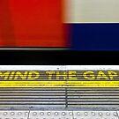 Mind the Gap - London UK by Norman Repacholi
