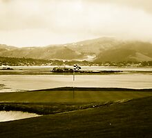 18th Hole Pebble Beach by Tobias Whaley
