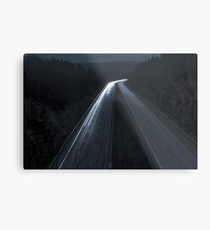 Autobahn Metal Print