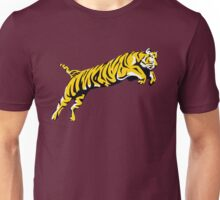 leaping tiger Unisex T-Shirt