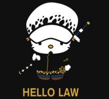 Hello Trafalgar Law by Crocktees