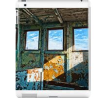An old wooden shed iPad Case/Skin