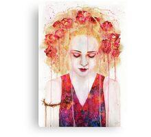 Treurrozen Canvas Print