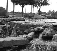Rush Of Water by Arif Sunesara