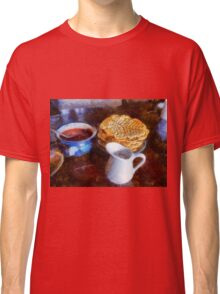Classical breakfast outmeal waffer and jam  Classic T-Shirt