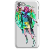 Angel with a sword iPhone Case/Skin