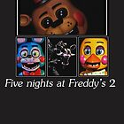 Five nights at Freddy's 2 by xSelenaRussellx