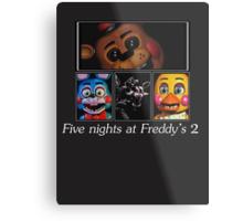Five nights at Freddy's 2 Metal Print