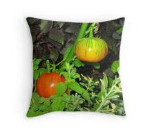 Color garden Throw Pillow