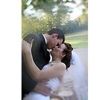 Sweet Romantic Embrace Photographic Print
